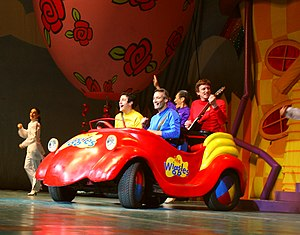 English: The Wiggles performing at the MCI Cen...