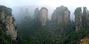 Wulingyuan, Zhangjiajie, Hunan Prov., China.