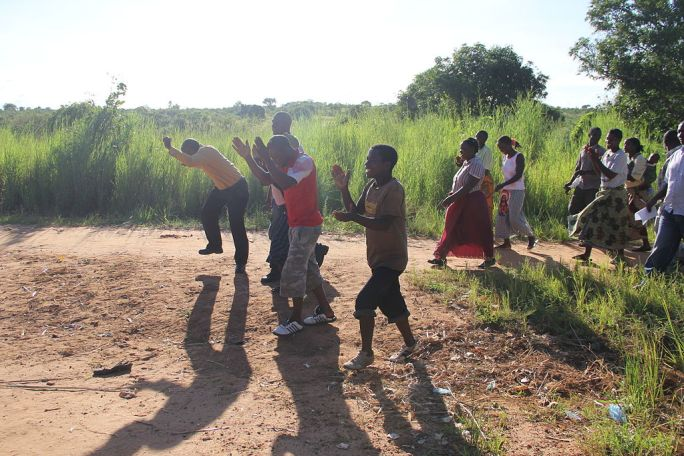 Actions to end open defecation in a village in Malawi (3)