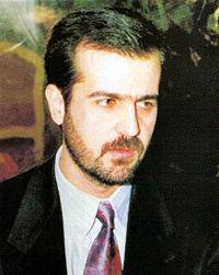 Bassel al-Assad, Bashar's older brother, died in 1994, paving the way for Bashar's future presidency.