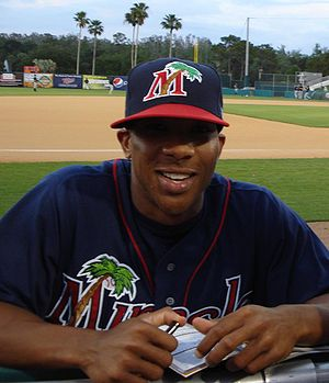 English: The Minnesota Twins' Ben Revere