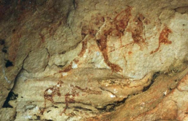 Bradshaw rock painting
