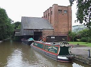 English: Cadbury Wharf, Knighton, Staffordshir...