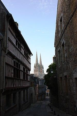 Français : Cathedrale Saint Corentin, Quimper ...
