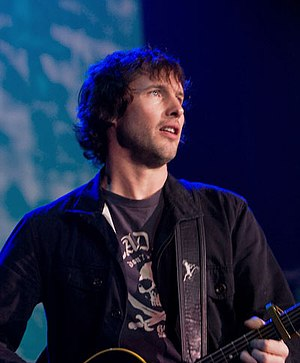 James Blunt playing Reading Rivermead 23rd Jan...