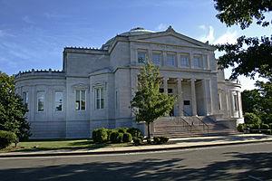 English: James Blackstone Memorial Library - F...