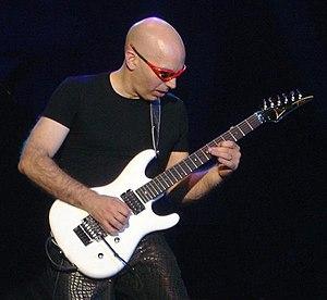 Musician Joe Satriani