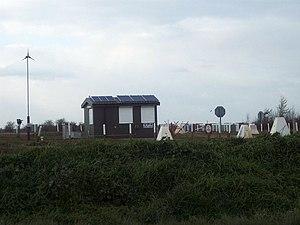 English: Juliette Crossing, Salisbury Plain A ...