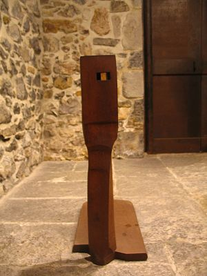 These are sculptures from the basque sculptor ...