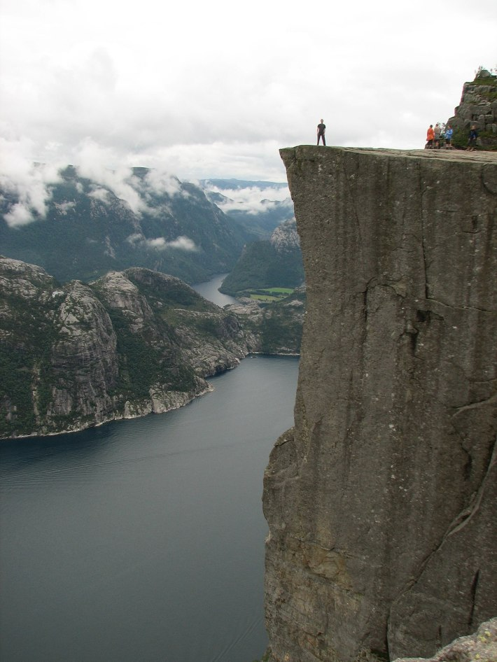 Image result for Preikestolen, Norway