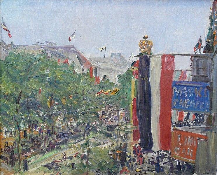 Fichier:Max Slevogt Unter den Linden 1913.jpg