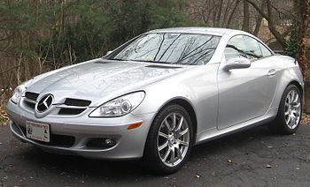 2005-2008 Mercedes-Benz SLK 350 photographed i...