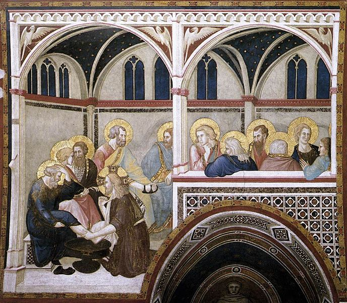 File:Pietro Lorenzetti - The Washing of the Feet - WGA13506.jpg