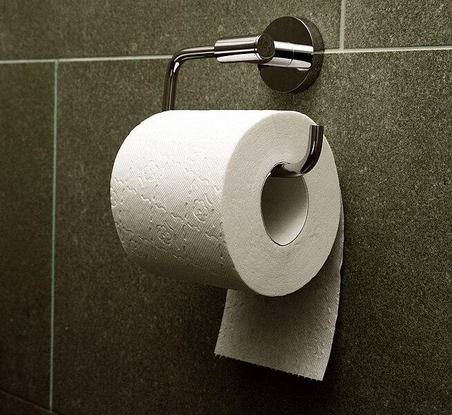 The under method of toilet paper presentation