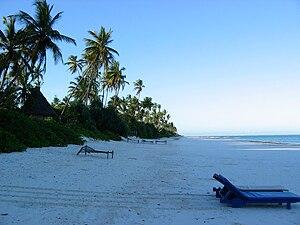 Pristine Beach East Zanzibar