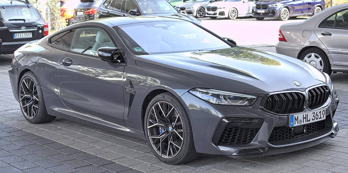 This engine is rated at 441 kw (591 hp) at 6,000 rpm and 750 n⋅m (553 lb⋅ft) in the standard m8 model, with peak power increasing to 460 kw (617 hp) at 6,000. Bmw M8 Wikipedia