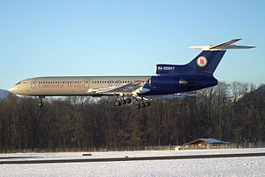 Continental Airways Tu-154M.