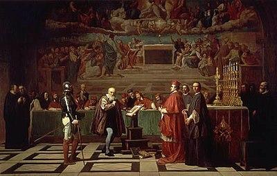 Galileo ante el Santo Oficio