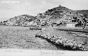 Göztepe, a suburb of İzmir, Turkey, circa 1880s