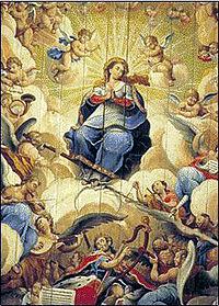 Glorificação da Virgem, de mestre Ata�de.