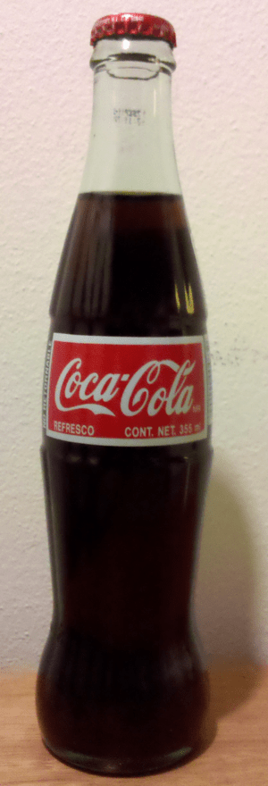 English: A Bottle of Mexican Coke.