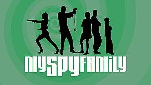 English: Logo for My Spy Family