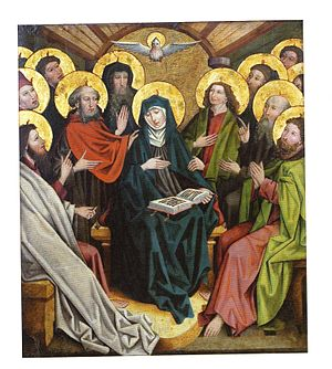 The Pentecost, Waldburg-Wolfegg Collection at ...