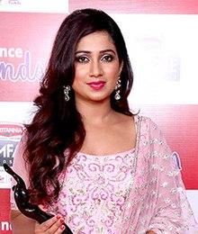 Shreya Ghoshal at Filmfare Awards South.jpg