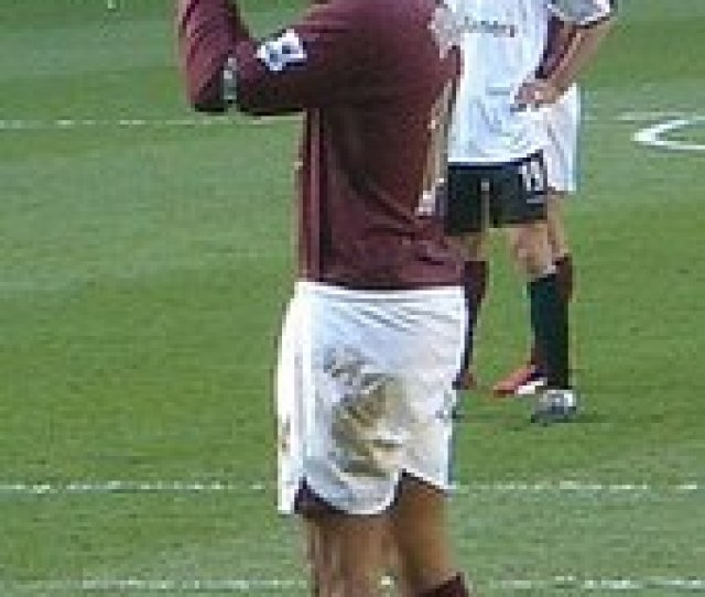 Henry In A Premier League Game Against Charlton Athletic At Highbury In March