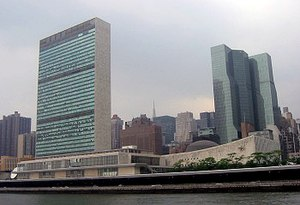 UN Headquarters in New York Aiken helped shape...
