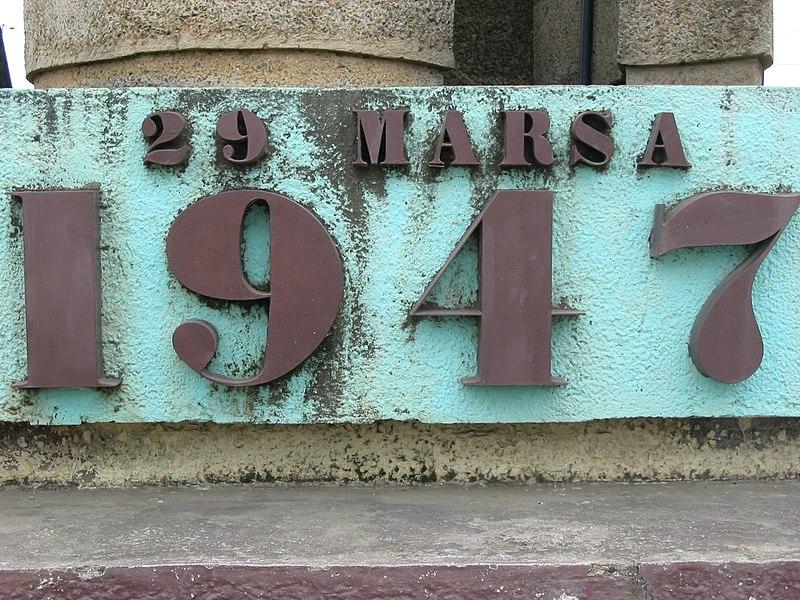 Madagascar 1947