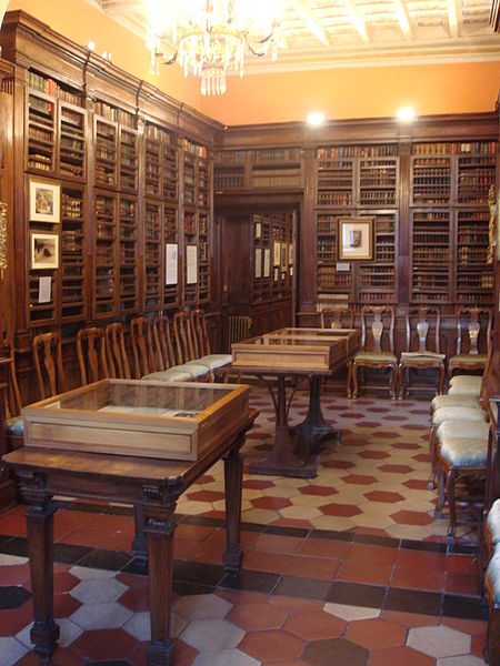 File:8412 - Biblioteca dello Keats-Shelley Museum (Roma) - Foto Giovanni Dall'Orto, 29-March-2008.jpg