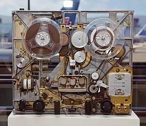 Internals of an Ampex tape recorder from 1965....