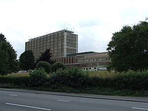English: County Hall County Hall for Norfolk C...