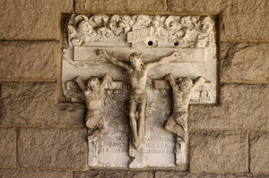 Crucifixion from the Stations of the Cross at ...