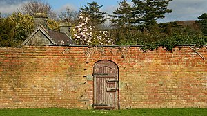 Door To The Secret Garden - geograph.org.uk - ...