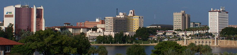 Lakeland Florida Skyline