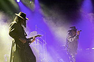 Fields of the Nephilim, live at WGT 2008