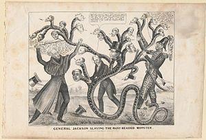 Viñeta de la Guerra Bancaria