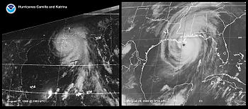 Comparison of Hurricanes Camille and Katrina n...