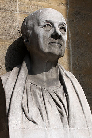 Bust of British architect John Nash (1752-1835...