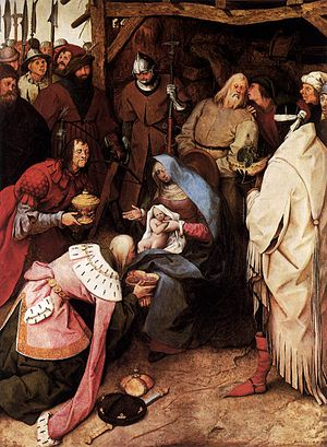 Pieter Bruegel the Elder - The Adoration of th...