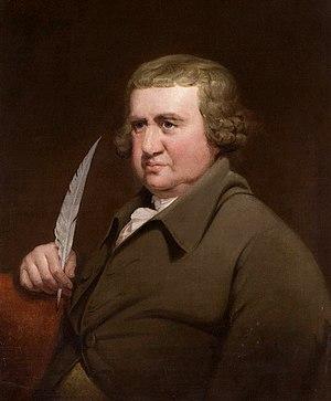 Erasmus Darwin in 1792 by Joseph Wright of Derby