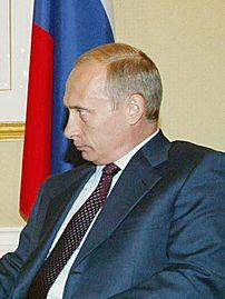 President Vladimir Putin of Russia. Photograph...