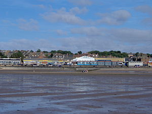 Here is the view of the Hunstanton front from ...