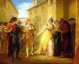 A Scene from Twelfth Night by William Shakespe...