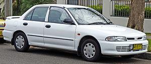 English: 1993–1996 Mitsubishi Lancer (CC) Exec...