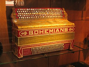 Accordion in the Musical Instrument Museum, Br...