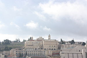English: Bethlehem from the north including to...