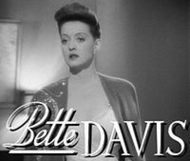 Bette Davis Wearing An Updated Pompadour In The Film Now Voyager 1942